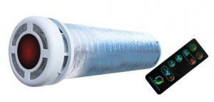 Компактная приточно-вытяжная теплосберегающая вентиляция рекуператор Прана 150